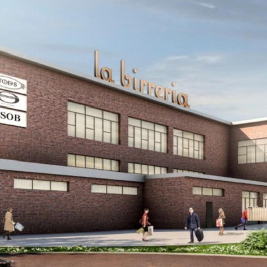 Apre a Napoli, il 24 aprile, il centro commerciale 'La Birreria'