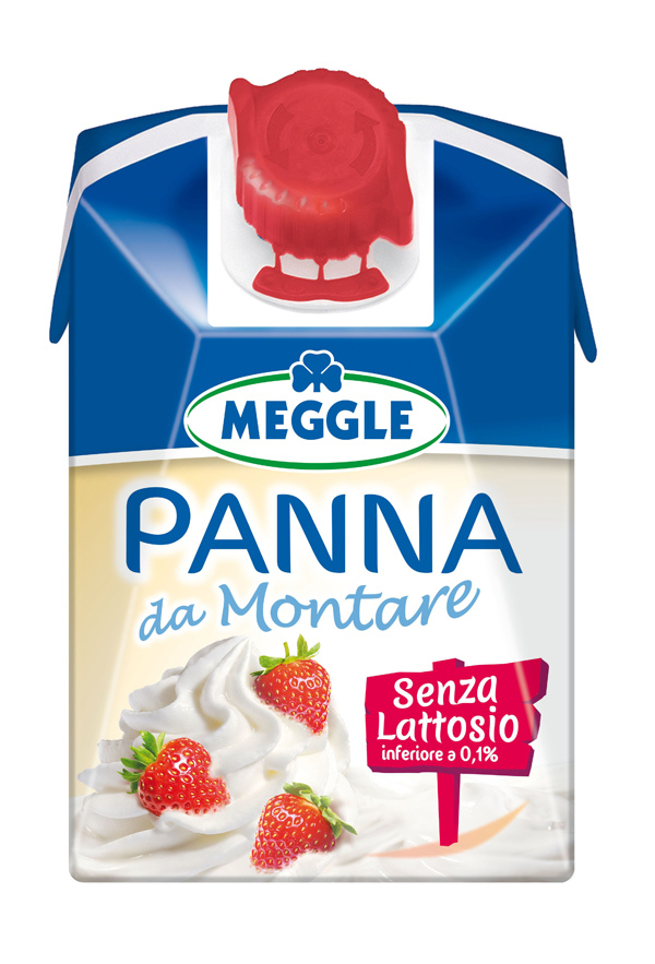 Meggle lancia la panna da montare senza lattosio