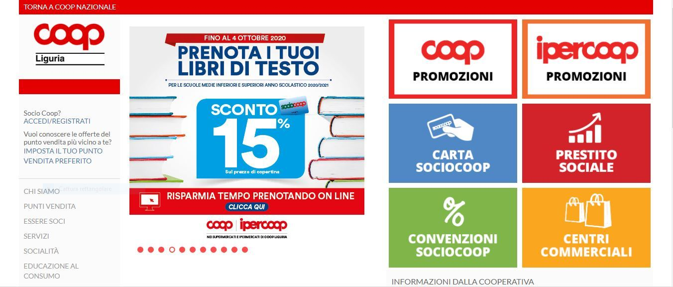 Coop Liguria, Bilancio 2019: risultato in utile per 16 milioni