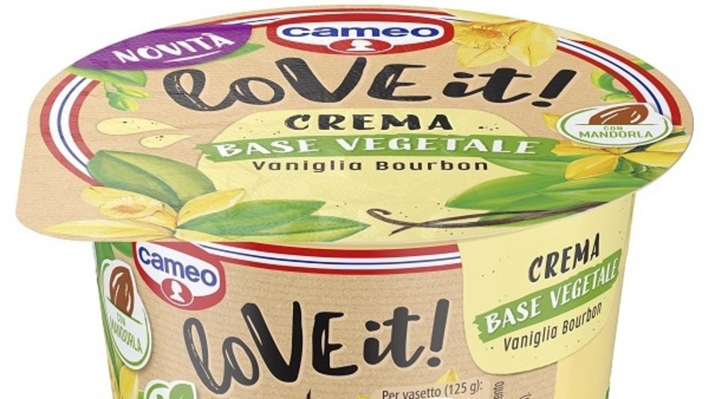 Cameo presenta la nuova gamma di creme fresche a base vegetale