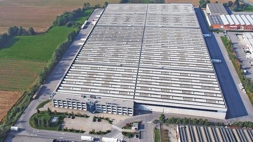 """Parco logistico """"P3 Brignano"""", locati 13.000 mq"""