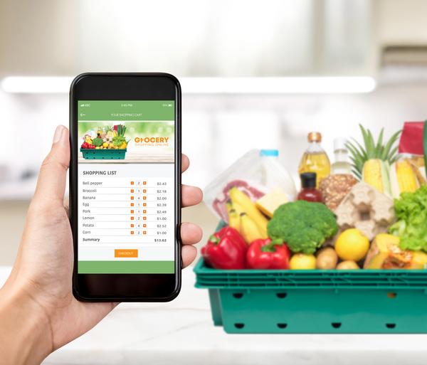 L'e-grocery cresce a doppia cifra nel 2018