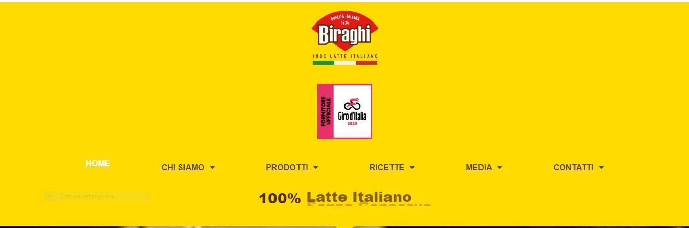 I Biraghini snack si vestono di rosa in attesa del Giro d'Italia