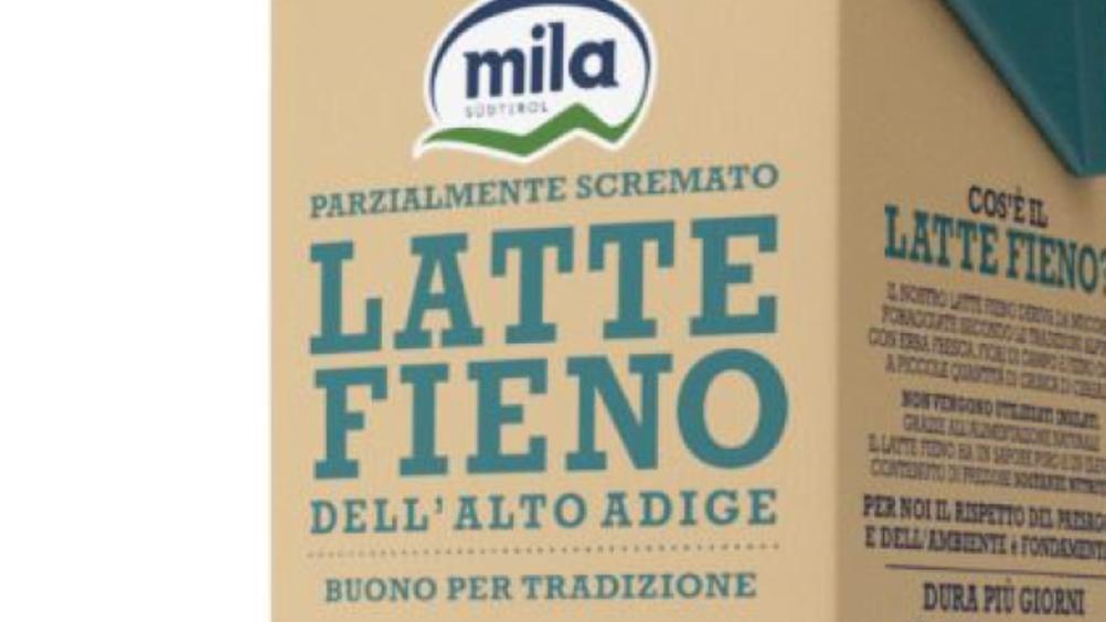Mila: arriva il Latte fieno 100% dell'Alto Adige