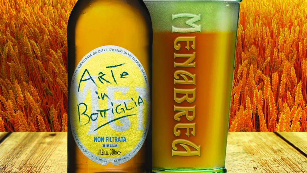 Arriva la birra non filtrata di Menabrea