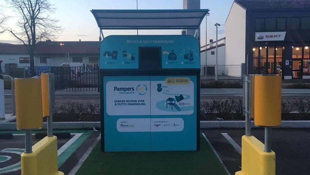 Esselunga sostiene a Verona il progetto di riciclo dei pannolini usati