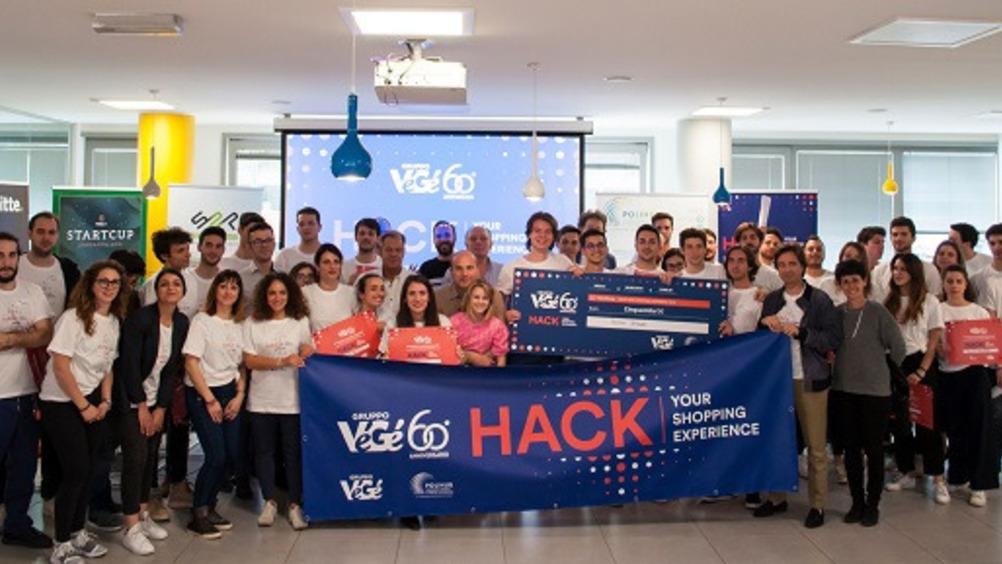 I partecipanti all'Hackathon in collaborazione con PoliHub