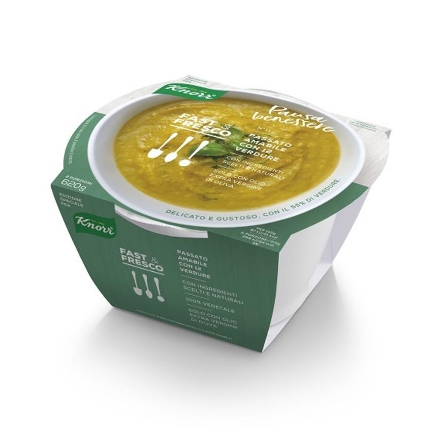 Arrivano le Zuppe Fast & Fresco Edizione Speciale per Knorr