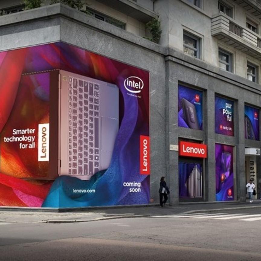 Lenovo apre a Milano Centro il suo primo megastore europeo