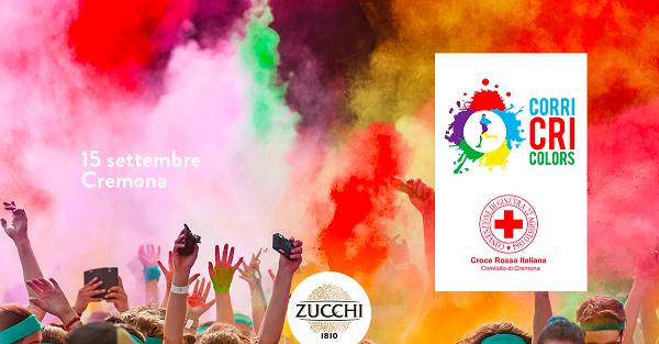 """Oleificio Zucchi sostiene la """"Corri CRI Colors"""""""