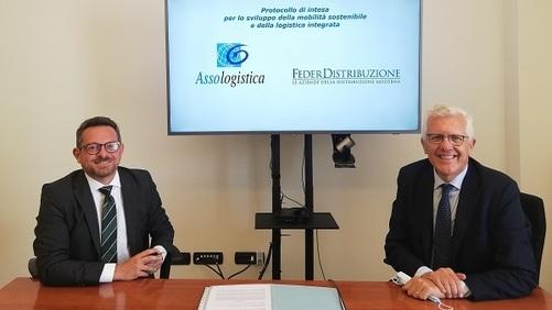 Federdistribuzione e Assologistica, siglato nuovo protocollo d'intesa