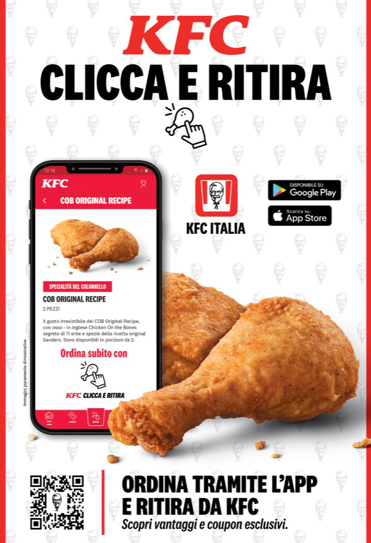 Kfc: nuova app