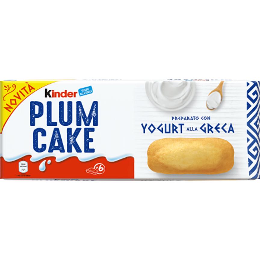 Arriva Kinder Plumcake con Yogurt alla Greca