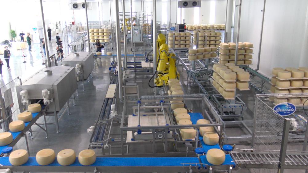 Brazzale inaugura lo stabilimento robotizzato