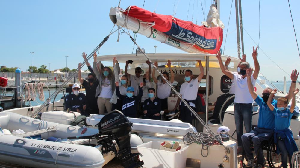 Pedon diventa sponsor di Wow-Wheels on Waves per sostenere i bambini disabili