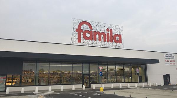Gruppo Unicomm apre un nuovo pdv Famila in Veneto