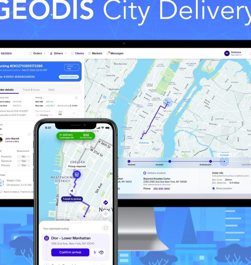 """""""Geodis City Delivery"""" per consegne urbane ancora più veloci"""
