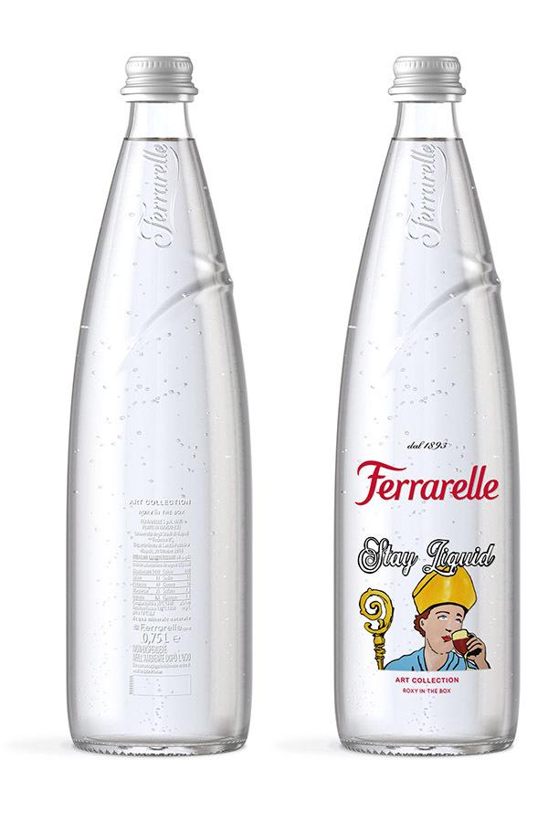 Ferrarelle art collection: in arrivo le bottiglie in limited edition