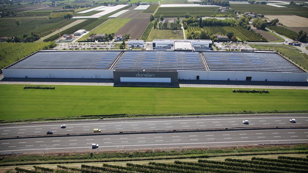 Dorelan: la sede di Forlì ha 36.000 mq di produzione