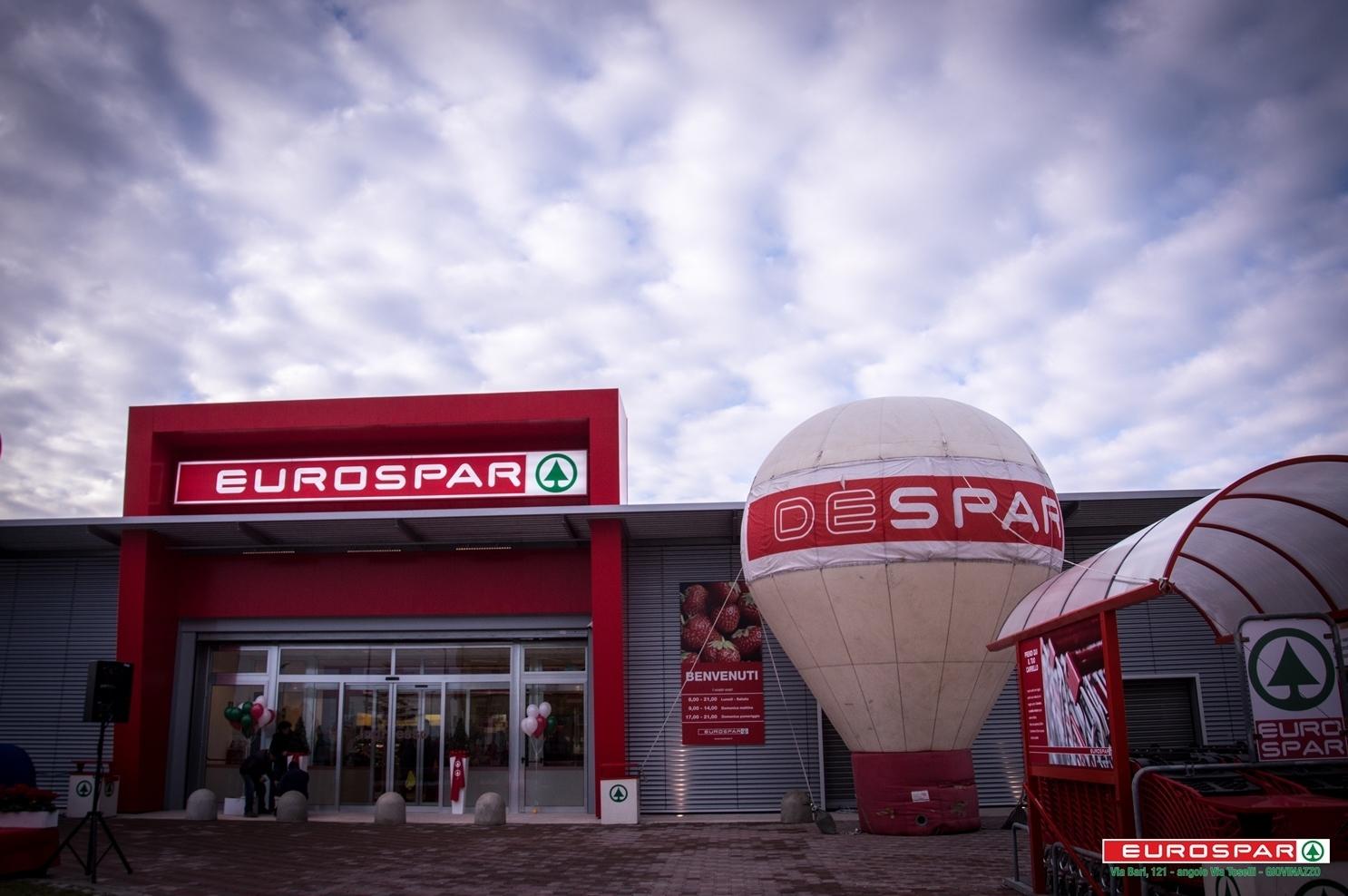 Eurospar: nuova apertura a Giovinazzo (BA)