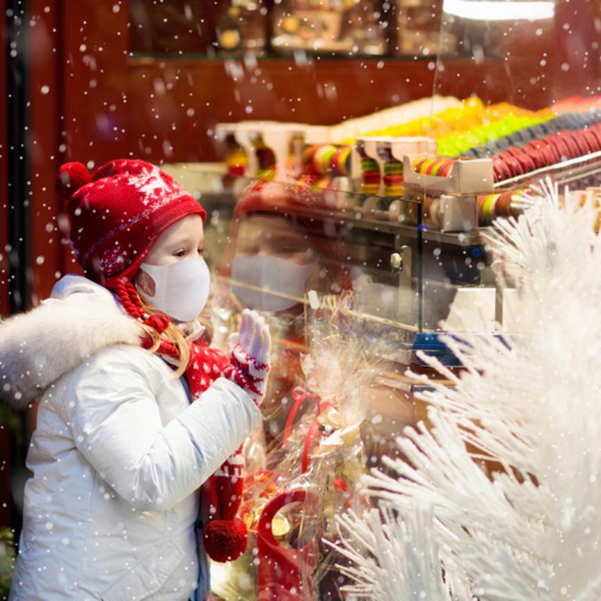 Il Natale è nei negozi anche in tempi di Covid