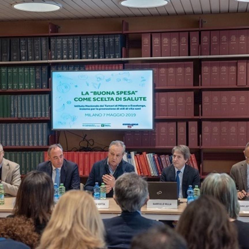 Esselunga supporta l'Istituto Nazionale dei Tumori di Milano