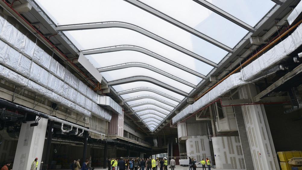 Zaha Hadid Architects ha realizzato un progetto aperto verso l'esterno