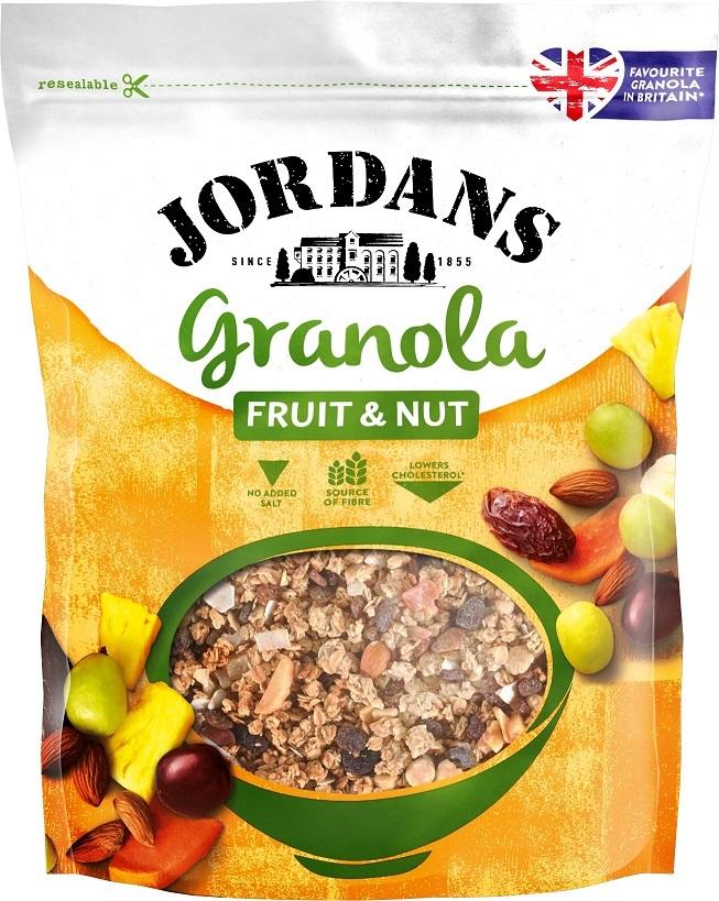 Jordans amplia la sua offerta di prodotti  con la linea Granola