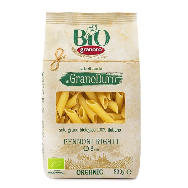 Granoro lancia un packaging sostenibile per la linea biologica