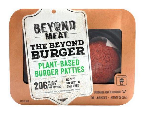 Arriva in Italia Beyond Burger, l'hamburger vegetale che piace a Bill Gates