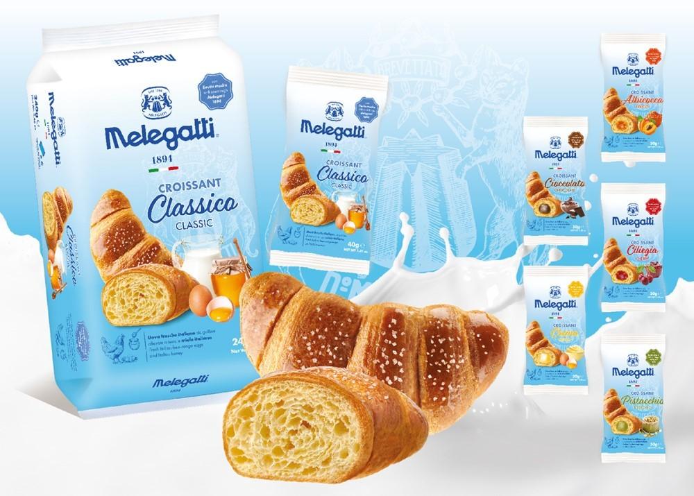 Novità in Melegatti, nasce il nuovo croissant