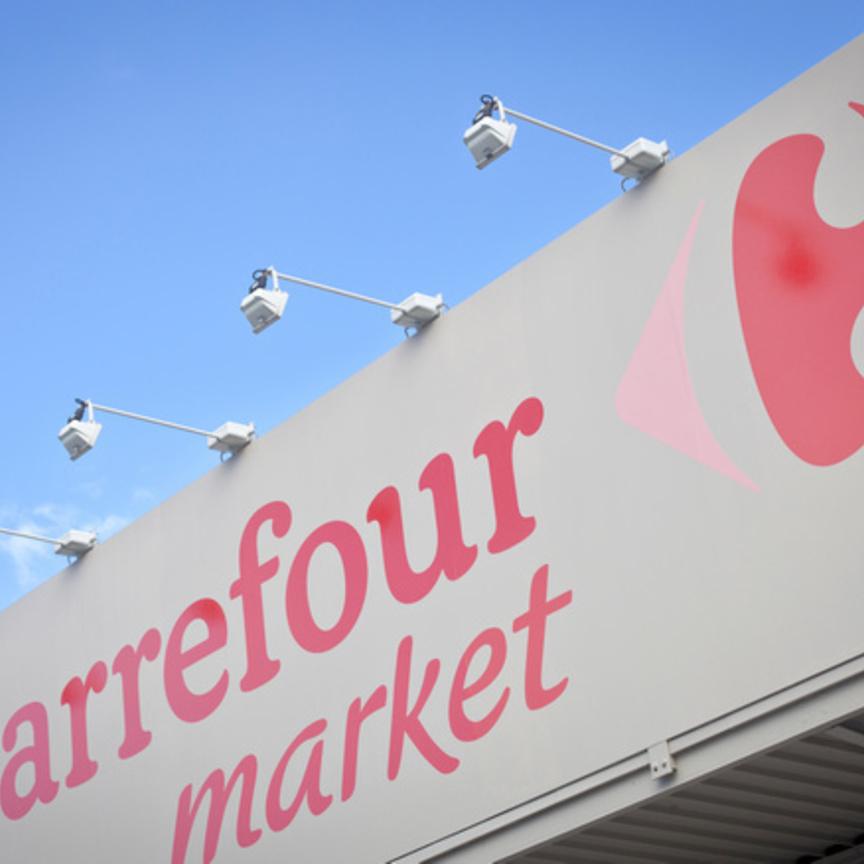 Carrefour chiude l'anno a 87,5 miliardi