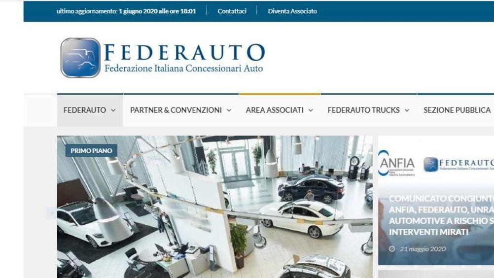 Federauto: immatricolazioni auto a maggio -49,6%