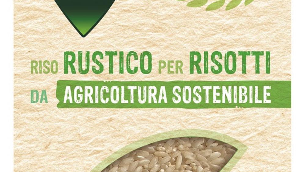 Riso Rustico da agricoltura sostenibile per risotti