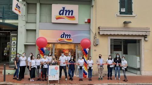 dm apre due nuovi punti vendita a Montecatini e Bressanone