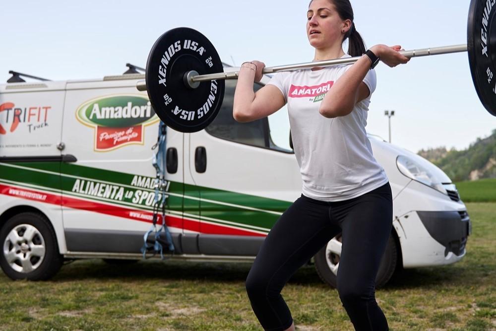 Amadori: nuova partnership nel segno del fitness all'aperto