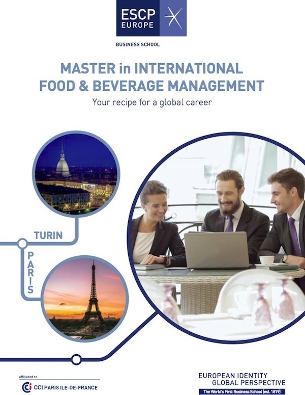 Federalimentare sigla accordo con ESCP Europe Business School
