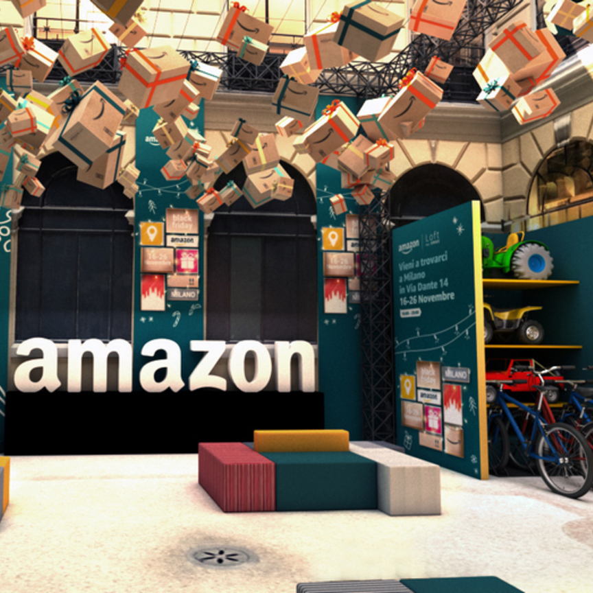 Amazon apre a Milano Centro: è solo un pop-up, per ora...
