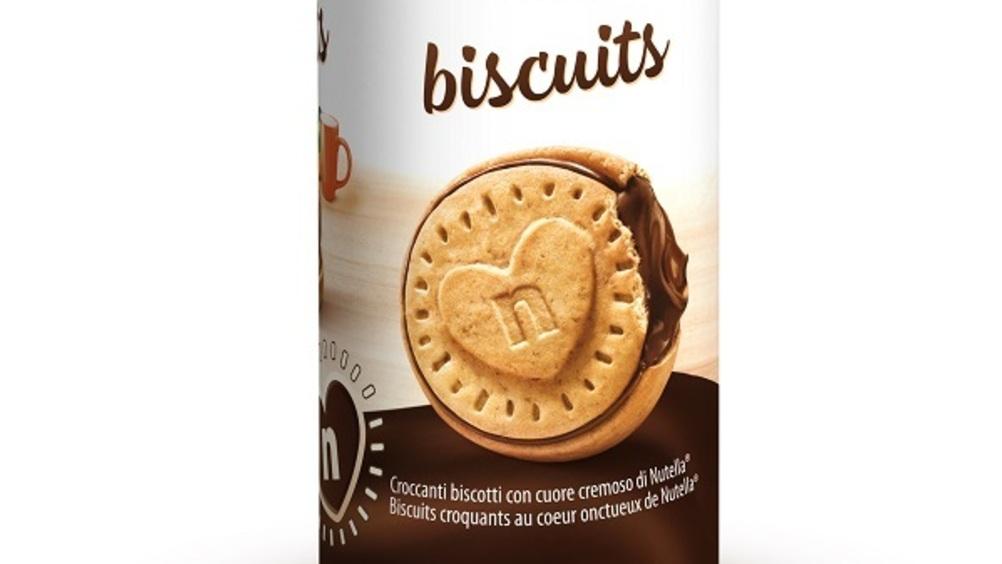 Arriva il tubo di Nutella Biscuits