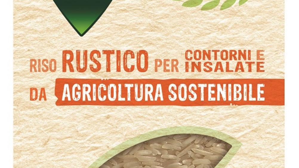 Riso Rustico da agricoltura sostenibile per contorni e insalate