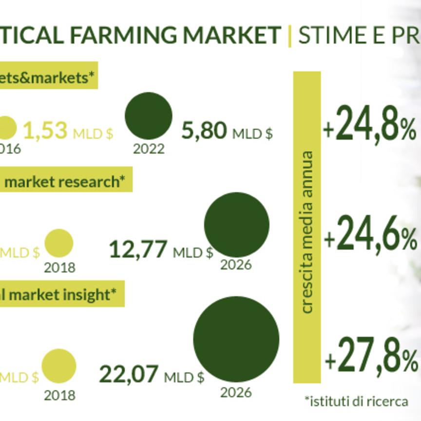 Agricoltura indoor, in store