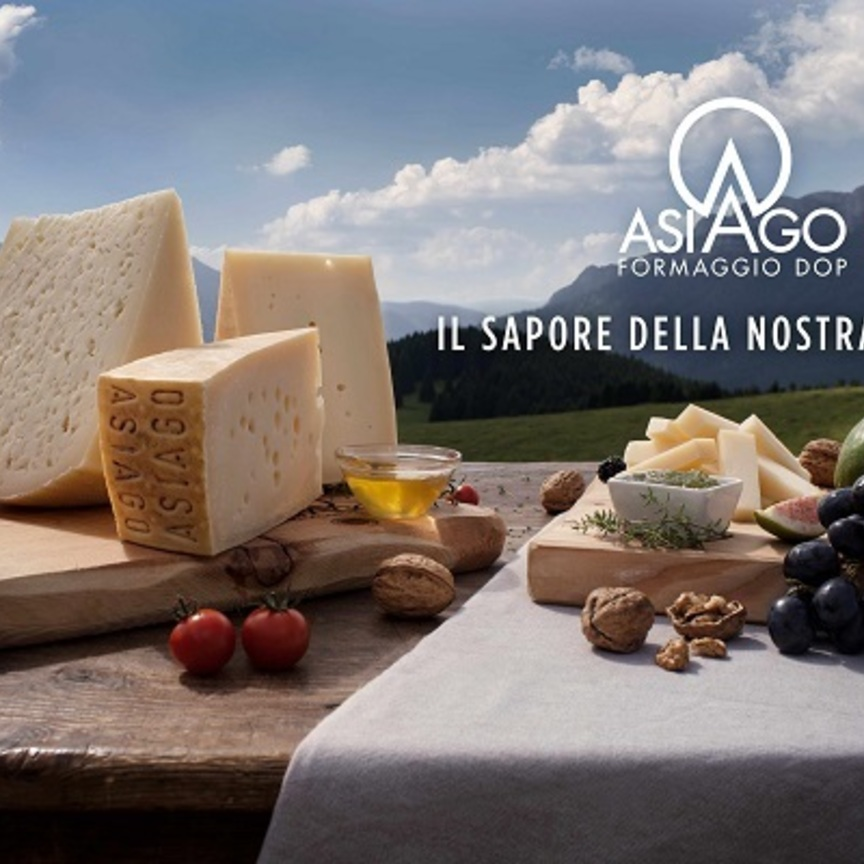 Asiago Dop protagonista in tv