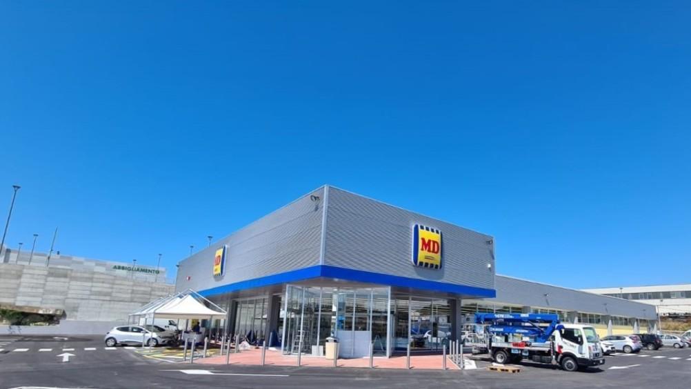 MD apre nuovo store a Predda Niedda (Sassari)