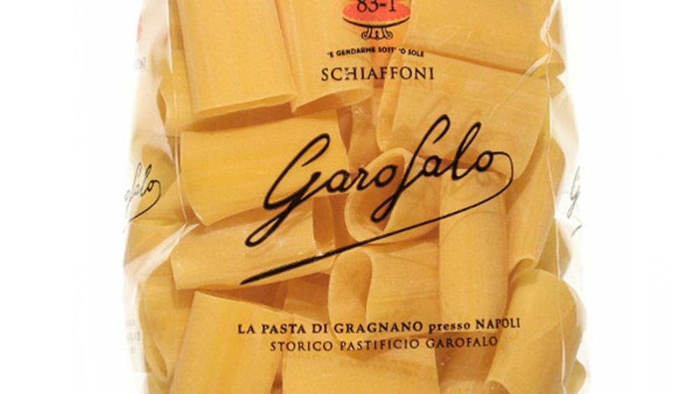 Gli Schiaffoni da 500 g di Garofalo.