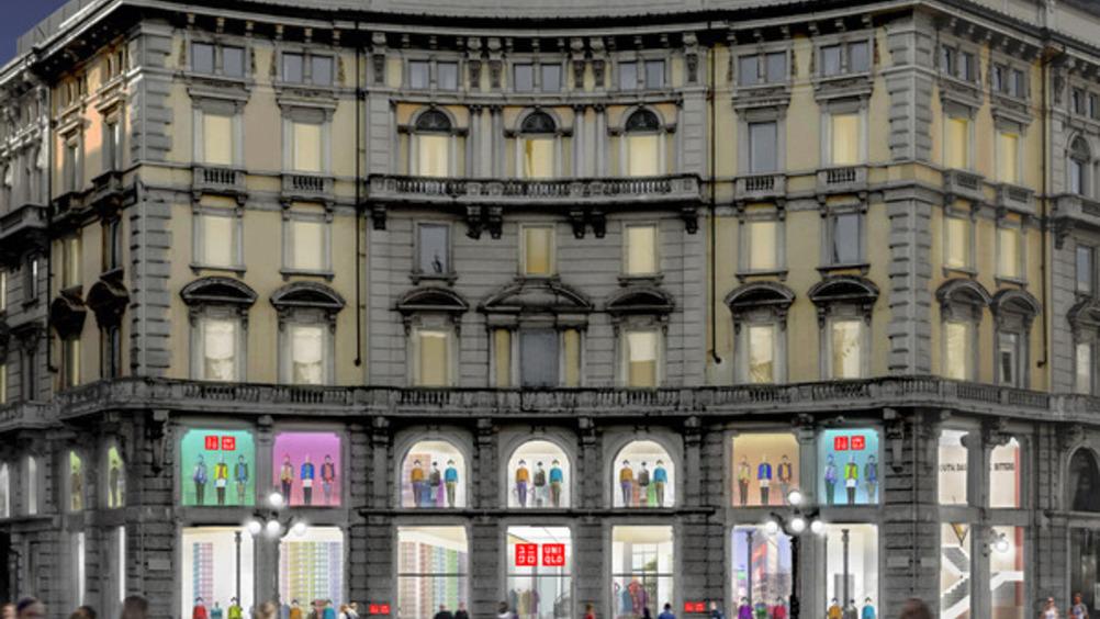 Uniqlo Milano, Piazza Cordusio