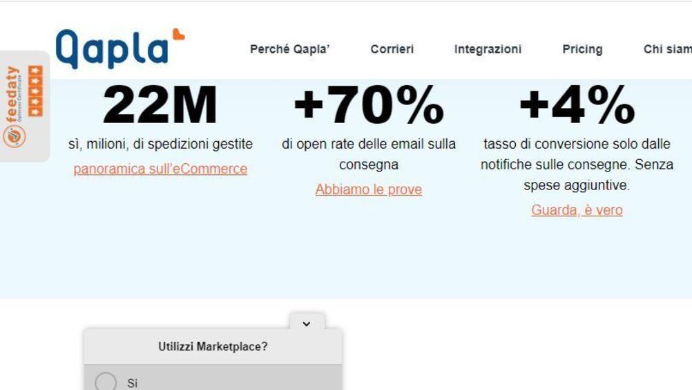 Qapla', post lockdown: diminuiscono del 21% le spedizioni degli acquisti online