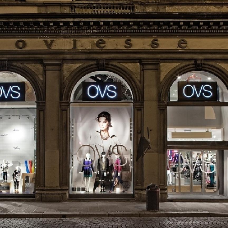Gruppo Ovs pianifica 120 aperture, fra Italia ed estero