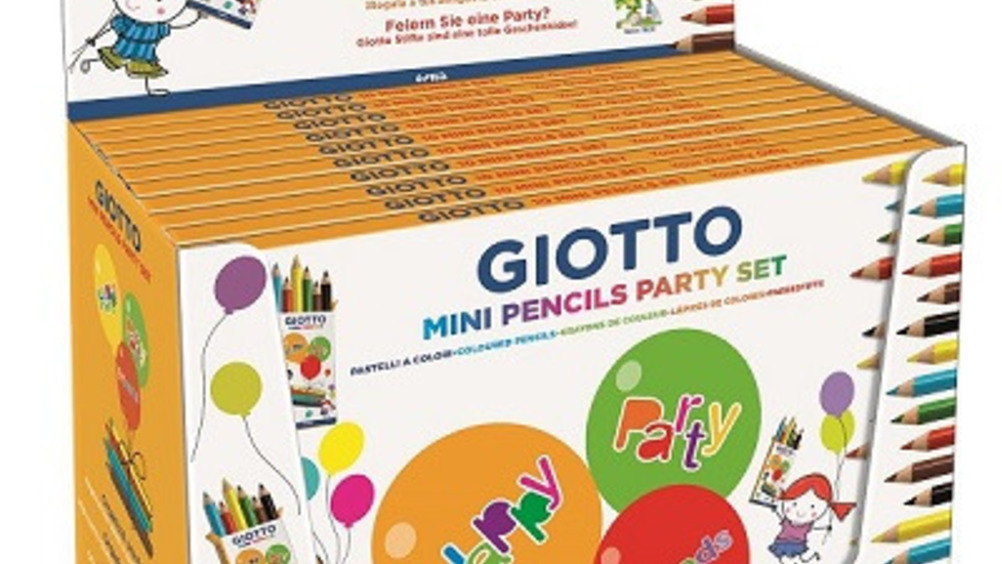 Giotto Mini Pencils Party Set