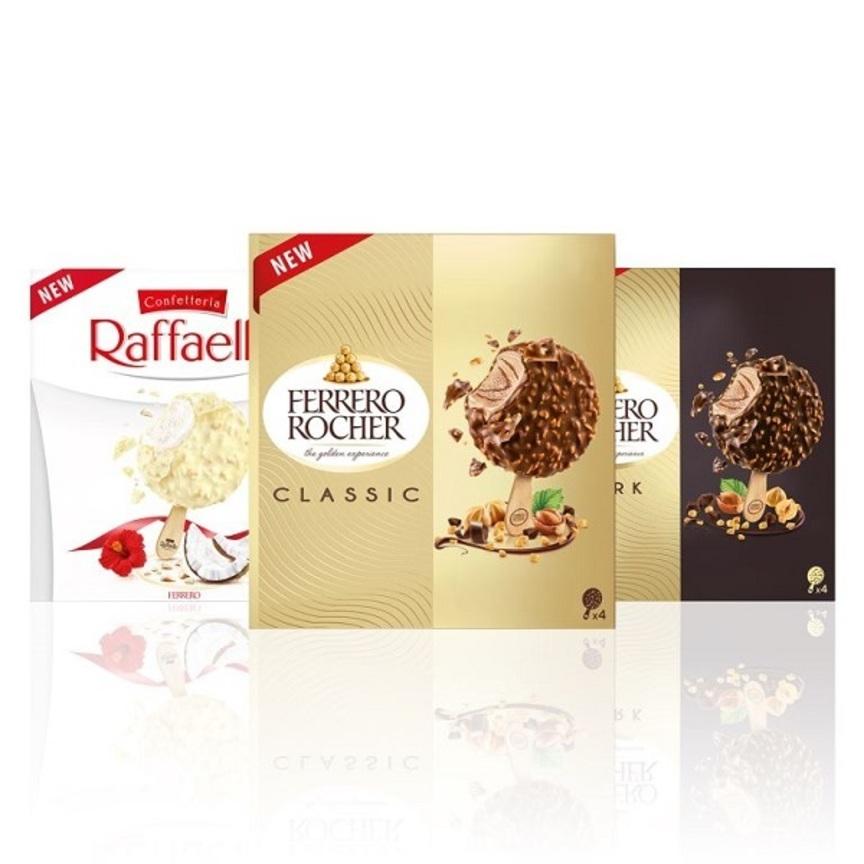 Ferrero entra nel mercato dei gelati confezionati
