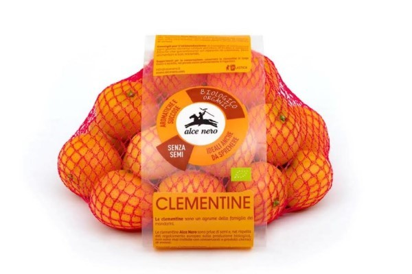 Alce Nero  lancia sul mercato le clementine, italiane e 100% biologiche